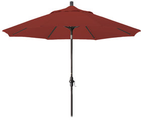 9' Aluminum Collar Tilt Market Umbrella