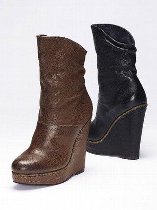 Calvin Klein Haiden Leather Bootie