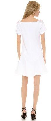 No.21 No. 21 Short Sleeve Crepe Dress