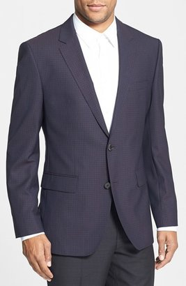 HUGO BOSS 'James' Trim Fit Check Sport Coat
