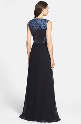 Erin Fetherston Erin by 'Clemence' Embroidery Embellished Gown