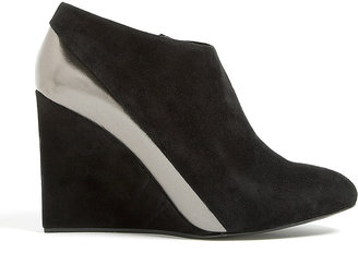 See by Chloe Shoes Khali Suede Wedge Ankle Boot