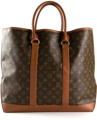 Louis Vuitton Vintage large weekend tote $1,099 thestylecure.com