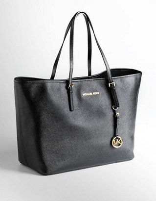 MICHAEL Michael Kors Medium Leather Jet Set Travel Tote