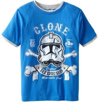 Star Wars Big Boys' Clone Riders T-Shirt
