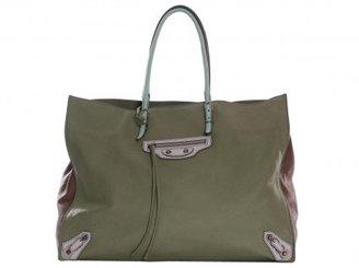 Balenciaga excellent (EX 2012 Multicolored Papier A4 Shopper Bag