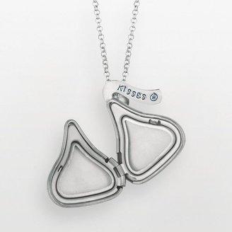 Hershey's Rhodium-plated sterling silver kiss locket