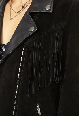 Forever 21 Out West Suede Jacket