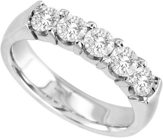MODERN BRIDE 1 CT. T.W. Diamond Band 14K White Gold