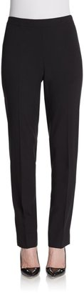 Lafayette 148 New York Wool Straight-Leg Pants