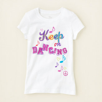 Children's Place Keep dancing graphic tee