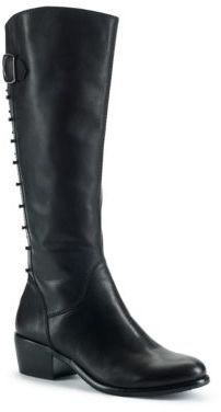 Arturo Chiang Billie Studded Leather Boots