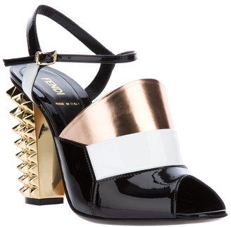 Fendi studded sandal