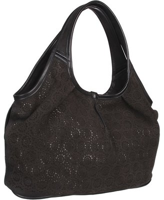 UGG Perforated Tote (Black) - Bags and Luggage