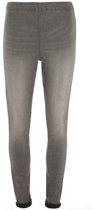 Dorothy Perkins Grey 'Lyla' High Waist Tube Pants