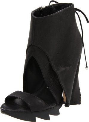 Camilla Skovgaard Women's Jagged Open-Toe Ankle Boot