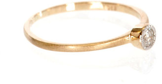 Zoe & Morgan Fine Jewellery Diamond solitaire & yellow gold ring