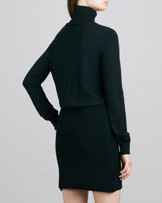 Theory Gratia Turtleneck Knit Dress
