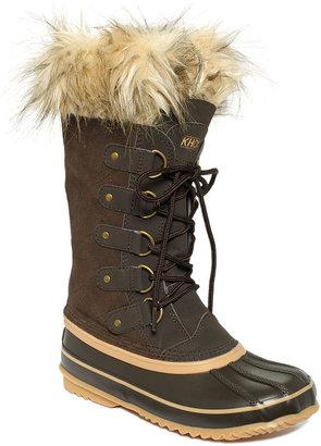 Khombu Shoes, Izzie Faux-Fur Cold Weather Boots