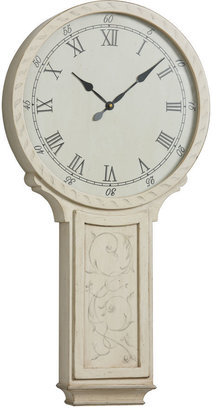 Ethan Allen French Painted Wall Clock