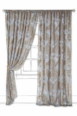 Anthropologie Kevin O'Brien Off-The-Vine Curtain
