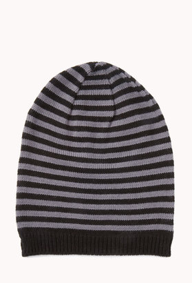 Forever 21 21 MEN Striped Beanie