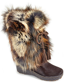 Pajar Foxtrot - Brown Fur Boot