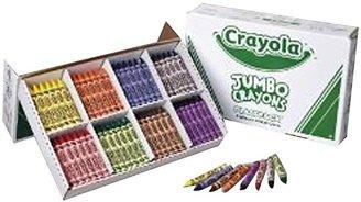 Crayola 52-8389 So Big Crayons, Classpack, Large