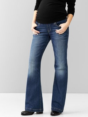 Gap 1969 Demi Panel Long And Lean Jeans