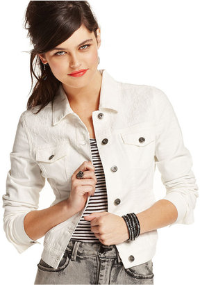 Freestyle Juniors Jacket, Lace Denim