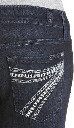 7 For All Mankind Dojo With Crochet Pocket Jean