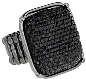 ING Anna & Ava Crystal Square Stretch Ring