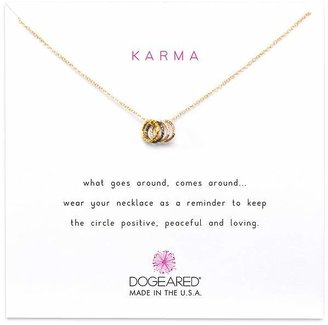 Dogeared Tiny Sparkle Karma Necklace, 16""