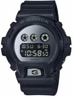 Casio Metallic Mirror Face Digital Watch