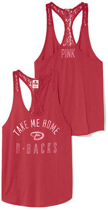 Victoria's Secret PINK Lace Racerback Tank