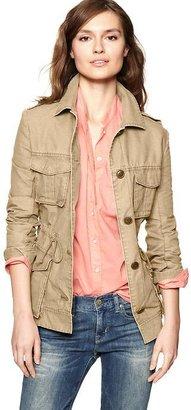 Gap Canvas military jacket