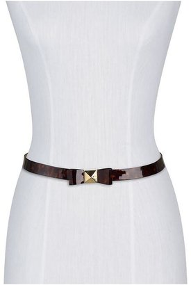 Kate Spade Medium Pyramid Bow Belt