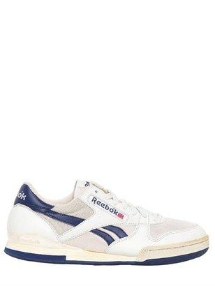 Reebok '90 Leather & Mesh Tennis Sneakers