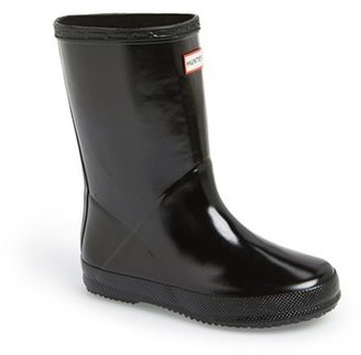 Toddler Hunter 'First Gloss' Rain Boot $55 thestylecure.com