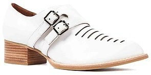 Jeffrey Campbell The Dulles Shoe in White Leather
