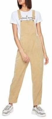 Missguided Cord Dungaree Corduroy Jumpsuit