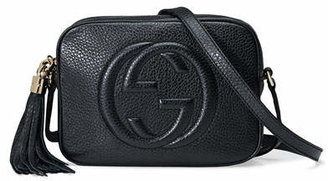 a5bbda4f0 Gucci Black Leather Handbags - ShopStyle