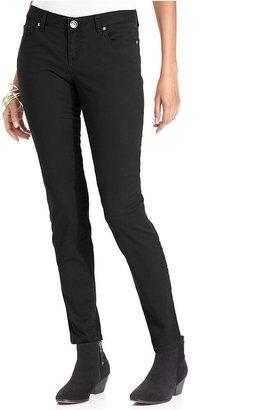 Style&Co. Pants, Skinny-Leg Stretch Embellished-Pocket