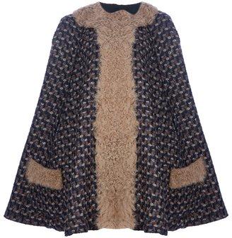 Dolce & Gabbana woven cape