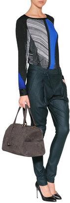 Helmut Lang Wool Pants in Gypsum