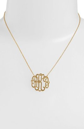 Women's Argento Vivo Personalized Small 3-Initial Letter Monogram Necklace (Nordstrom Exclusive) $98 thestylecure.com