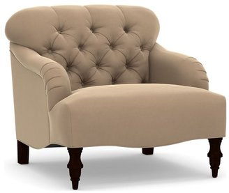 Pottery Barn Clara Upholstered Armchair