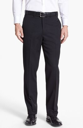 JB Britches Flat Front Worsted Wool Trousers $155 thestylecure.com