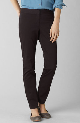 J. Jill Cotton bistretch slim ankle pants
