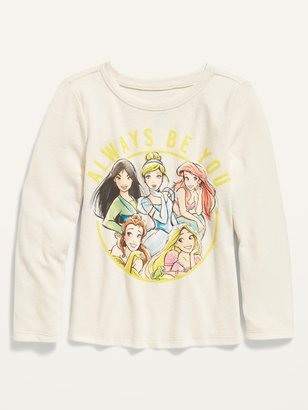 "Old Navy Disney Princess ""Always Be You"" Long-Sleeve Tee for Toddler Girls"